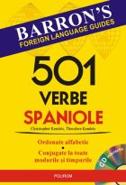 501 verbe spaniole, manual cu CD