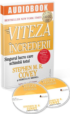 Viteza increderii, carte audio CD
